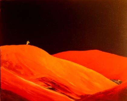 inland sea artist stephen james artist australia 2006